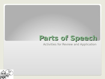 Parts-of-Speech in the Context of Writing: Mini-lessons for Review