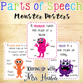 Parts of Speech - Monster Posters