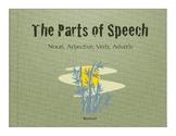 Parts of Speech: nouns, adjectives, verbs, and adverbs & Gorillas