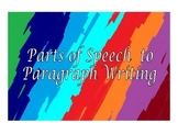 ESL: (Beg - High Int): Parts of Speech to Paragraph Writing