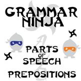 Parts of Speech with Prepositions - Grammar Ninja