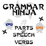Parts of Speech with Verbs - Grammar Ninja