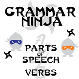Parts of Speech with Verbs - Grammar Ninja
