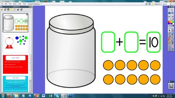 Parts of Ten Math Flipchart - 1st Grade