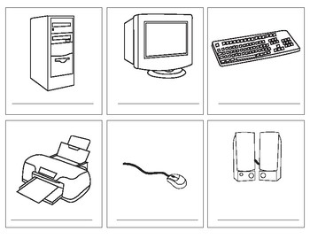 Parts of The Computer Memory Game