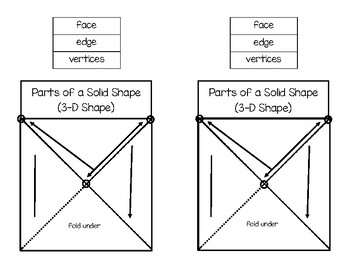 Parts of a 3-D Shape