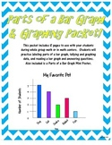 Parts of a Bar Graph and Graphing Packet