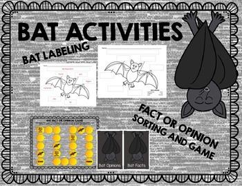 Parts of a Bat Labeling