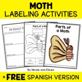 Parts of a Silkworm Moth Activities