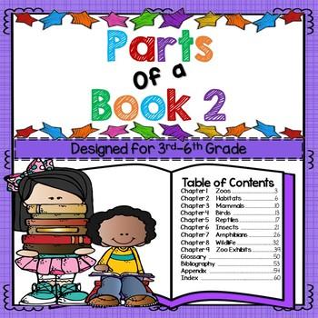 Parts of a Book 2