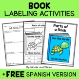 Vocabulary Activities - Parts of a Book
