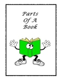 Parts of a Book Activity Booklet