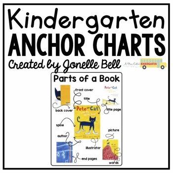 Parts of a Book Anchor Chart