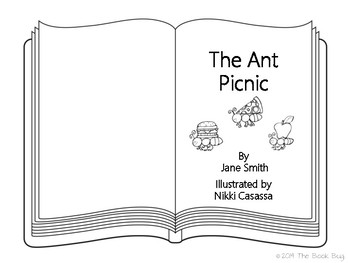 Parts of a Book Aurasma Activity Pack