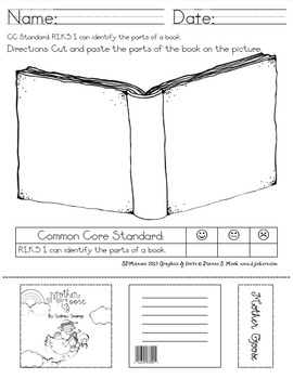 Parts of a Book & Author/Illustrator Combo (Common Core)