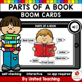 Parts of a Book (Boom Cards) (Distance Learning)