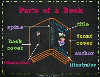 Parts of a Book {CCSS}