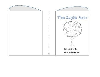 Parts of a Book Coloring Sheet and Work Sheet Pre k-4th Grade