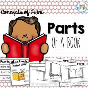 Parts of a Book - Concepts of Print