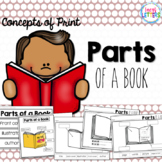 Parts of a Book - Concepts of Print