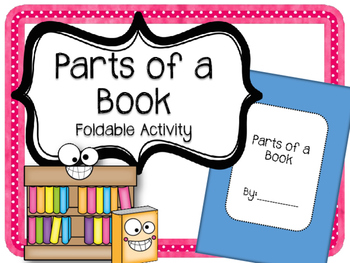 Parts of a Book {FOLDABLE} Title Page. Copyright Page. Glo