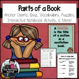 Parts of a Book {Anchor Charts, Foldable, Quiz & MORE}