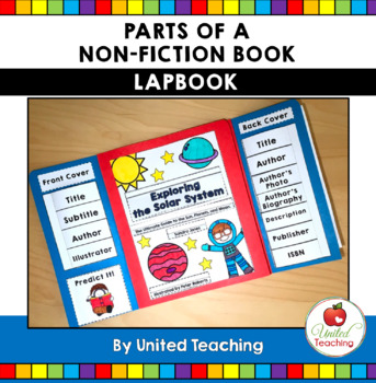 Parts of a Book Lapbook