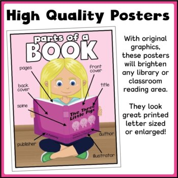 Parts of a Book - Poster Package