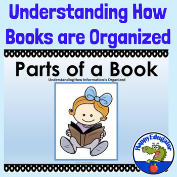 Parts of a Book PowerPoint