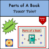Parts of a Book PowerPoint: Glossary, Index, Table of Contents, Title Page