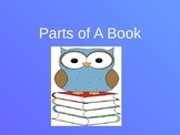 Parts of a Book Powerpoint Review