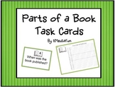Parts of a Book Task Cards by KMediaFun
