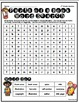 Parts of a Book Word Searches