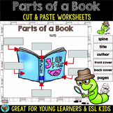 Parts of a Book Worksheets | Cut and Paste