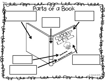 Parts of a Book and Story Elements