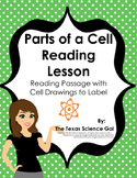 Parts of a Cell Reading Passage