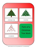 Parts of a Christmas Tree Work Montessori Preschool Homeschooling