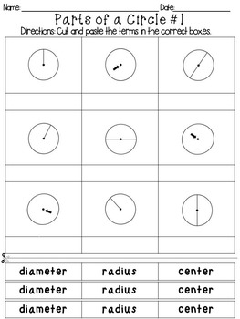 Parts of a Circle