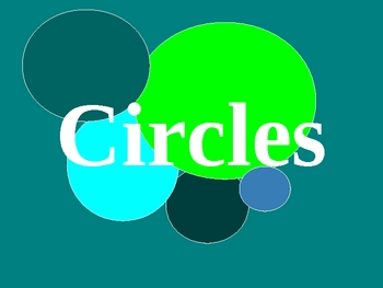 Parts of a Circle PowerPoint Presentation