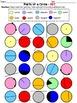 Parts of a Circle Quick Color