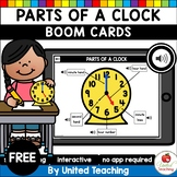 Parts of a Clock (Boom Cards) (Distance Learning)