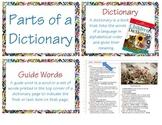 Parts of a Dictionary (L 2.2e & L 2.4e)