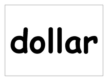 Parts of a Dollar