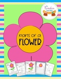 Parts of a Flower Activity and Writing Topper Pages