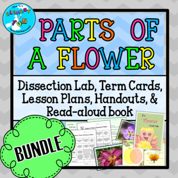 Parts of a Flower BUNDLE!! (55 pages of lesson material at