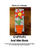 Parts of a Flower Craftivity and Mini Book
