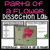 Parts of a Flower Dissection Science Lab