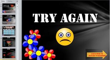 Parts of a Flower Trivia Game!  Fun Stuff!
