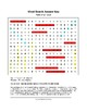 Parts of a Flower Word Search with Key (Grades 7-8)