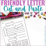 Parts of a Friendly Letter Cut & Paste